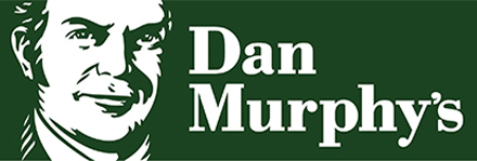 Dan Murphy's logo with cashback rate information