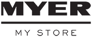 Myer logo with cashback rate information